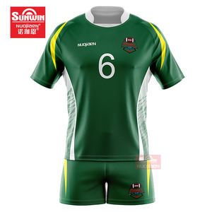 Wholesale custom design rugby uniform jersey sets