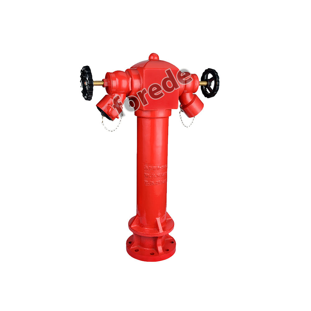 BS750 2 way pillar fire hydrant with 2.5'' landing valve