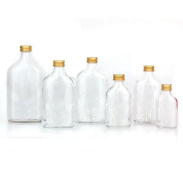 Stocked 50ml 100ml 200ml 250ml 350ml 500ml glass bottle for cold pressed juice coffee tea