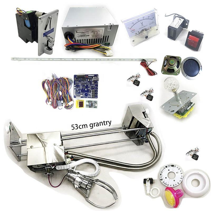 Diy Klauw Machine Kit Id Game Min Board Crane Kit Voor Speelgoed Kraan Machine
