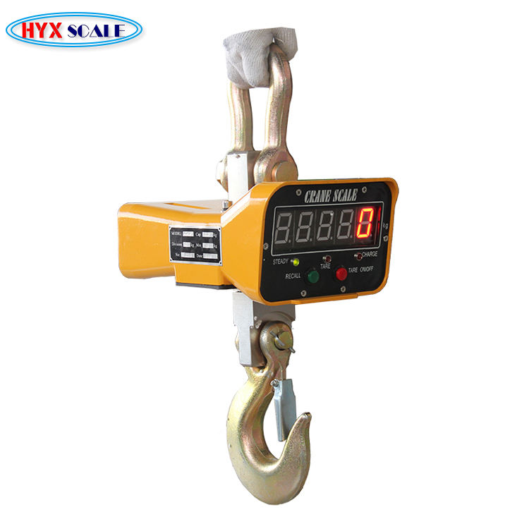 Cost Performance Type High Accuracy Ocs Industry Used Hanging Calibration 2000 Lbs Digital Crane Scale Ocs-s
