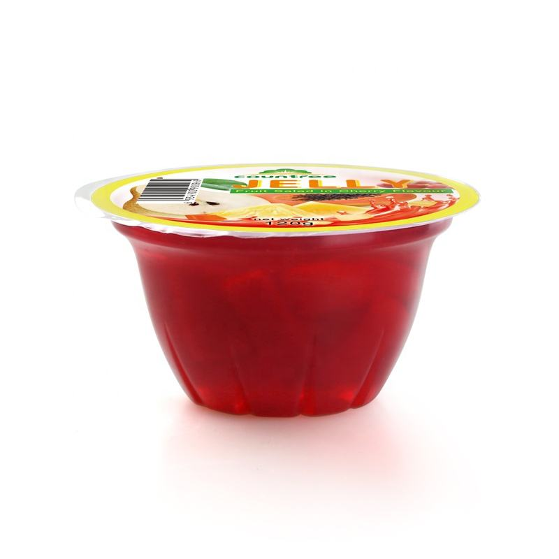 Best Quality Snacks Supplier Jelly in Fruit Mixed Fruit Jelly Cherry Flavour