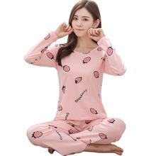 High Quality New Cute Nighty Wholesale One Set Chinese Sleeve Long Sets Women Pajamas Sleepwear