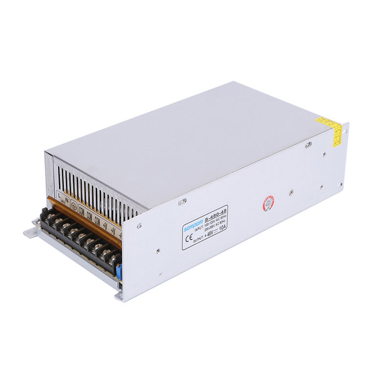 480w LED Driver SMPS Switching AC DC 48V 10a Power Supply