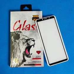 Full glue Tempered glass screen protector for Sony Xperia 10 II Black