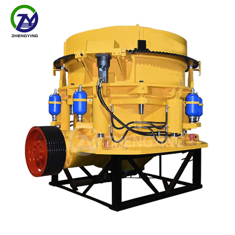 Hydraulic hpc cone crusher line for quarry
