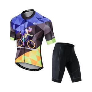 ST-05 Cycling short suit New summer short sleeve suit male bicycle clothing