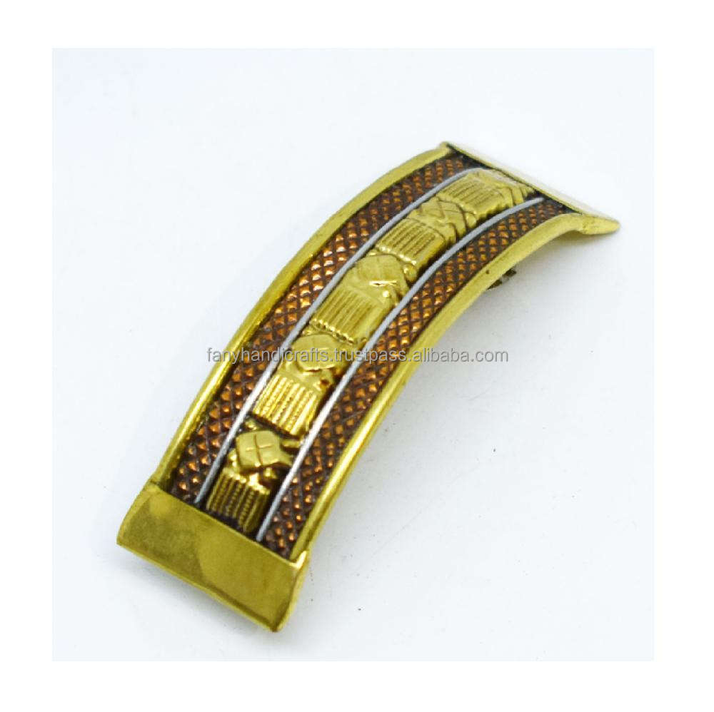 Pins Silver Gold Metal Hair Clips for Womens