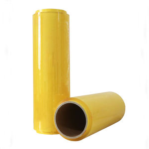 Food grade wrapping pvc stretch haftenden film schrumpfen wrap kunststoff film 30cm * 200m jumbo rolle