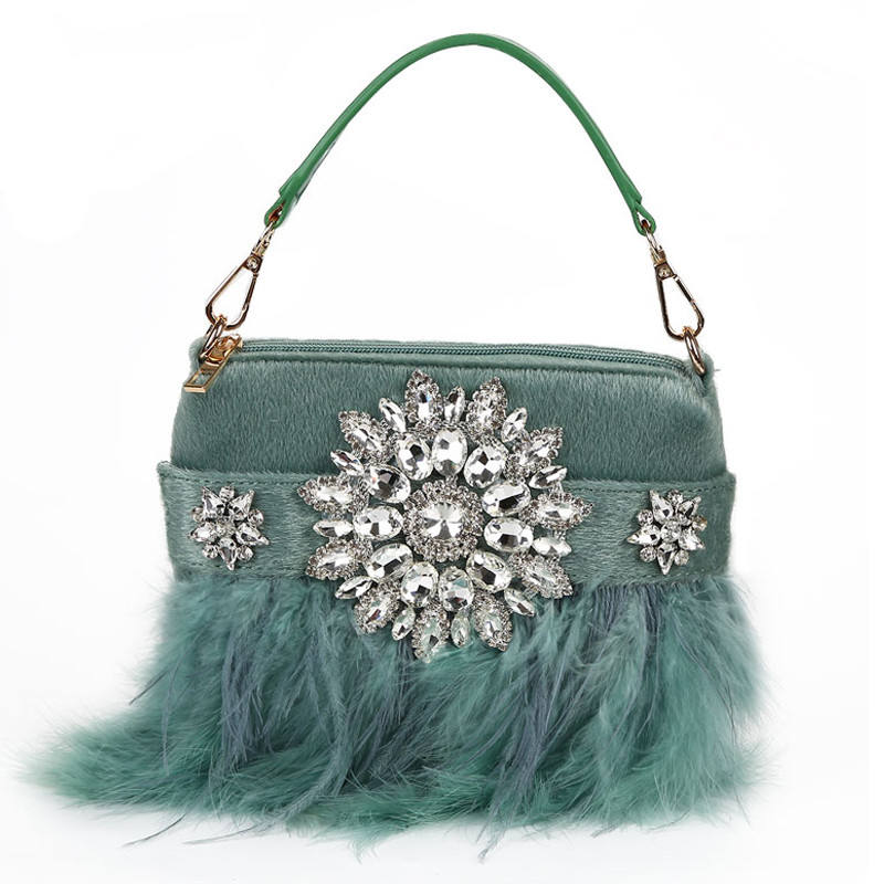 Color : Purple XIAMEND Womens Beaded Sequin Evening Clutch Slim Wedding Party Purse with Tassel