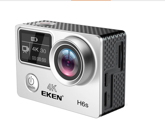 Original EKEN H6S Ultra HD Action Camera with Ambarella A12 chip 4k 30fps1080p 60fps EIS 30M waterproof sport Camera