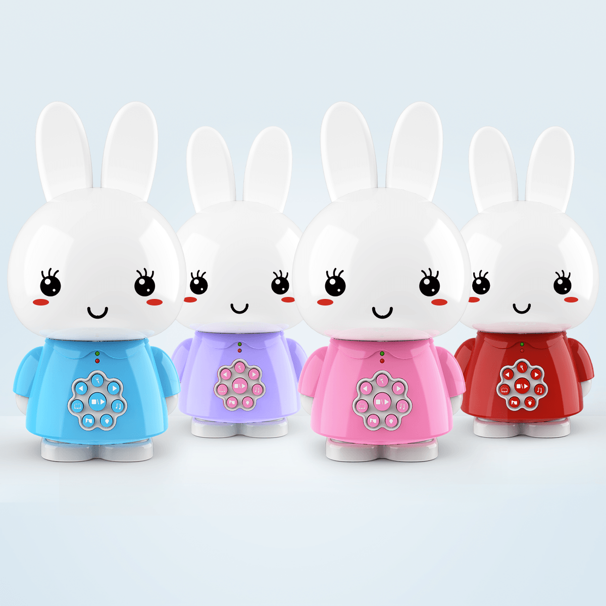 Alilo G6 Honey Bunny With Chewable Teether Ears Colorful Lights Rabbit CE RoHS Early Educational Smart Storyteller