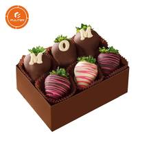 Wholesale boxes for packing strawberry chocolate