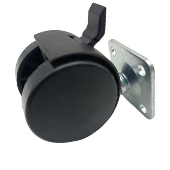 1.5inch small chair caster medical wheel caster with high quality made in china M8X15/19