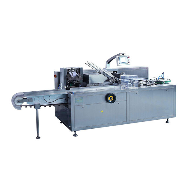 ZH-100 Full Automatic Cartoning Machine With Hot Melt
