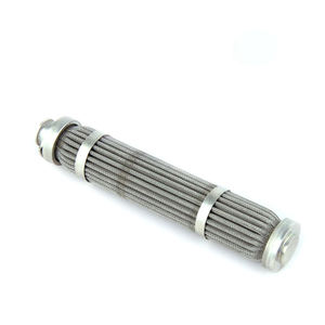 Industrial Cylindrical Separators Truck Compressor Dust Stainless Steel Filter Cartridge Filter Element