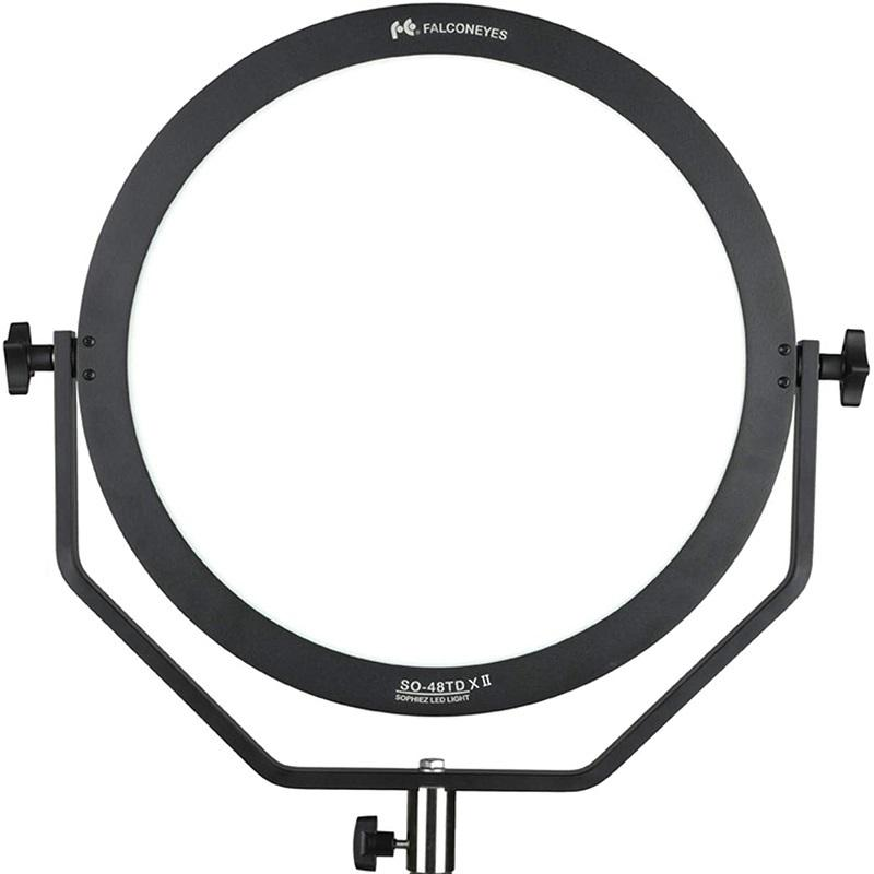 Falconeyes 48W Bi-colore 3000-5600K LED <span class=keywords><strong>Video</strong></span> Luce per <span class=keywords><strong>Video</strong></span>/Film/Fotografia continuo Studio di Illuminazione SO-48TDX II