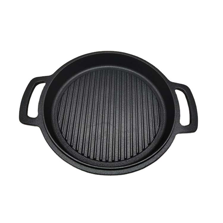 Wholesale Good Quality Cheap Double Grill Non Stick Skillet