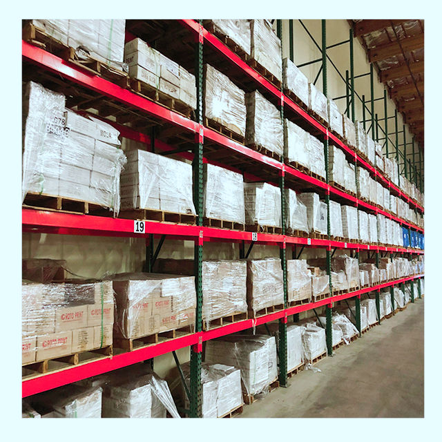 Heavy duty pallet warehouse racking storage certificated storage rack