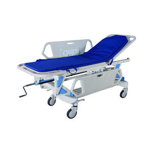 China fabricante de dispositivos médicos back-seção up hidráulico hospital ambulância maca paciente trolley