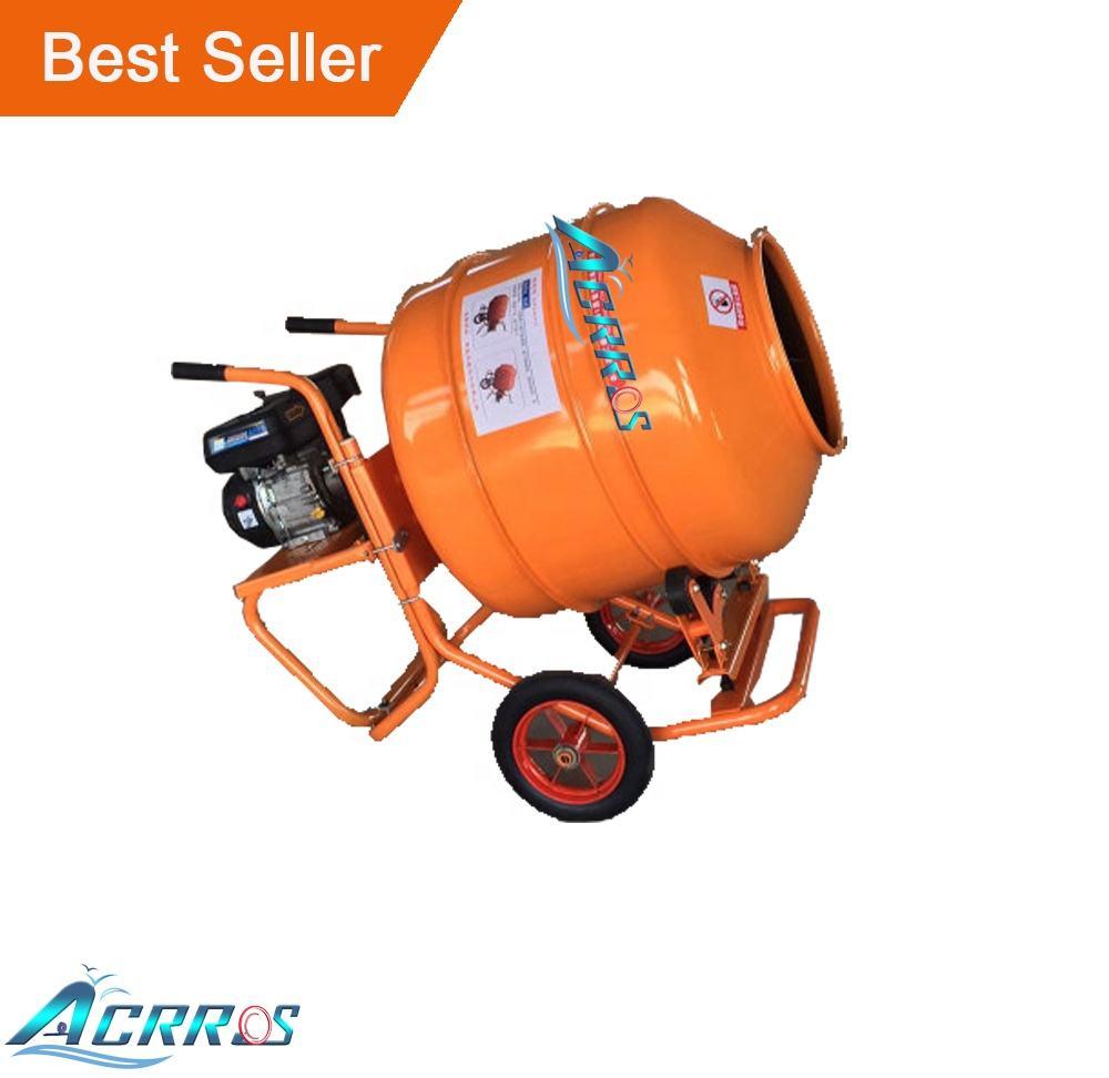 China Cheap Price 80L 100L 140L 180L 200L 300L Electric Portable Wheel Small Concrete Mixer