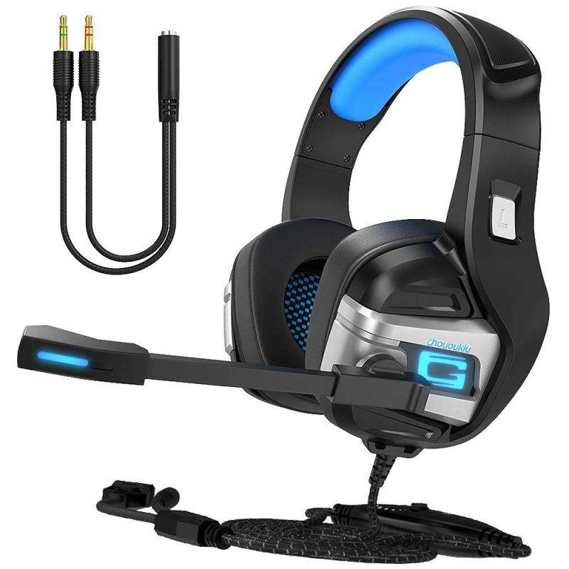 Best Selling for PS4 /X-ONE/ PC Wired Headphone Gaming Headset gamer With Audit Reports of BSCI, ISO9001
