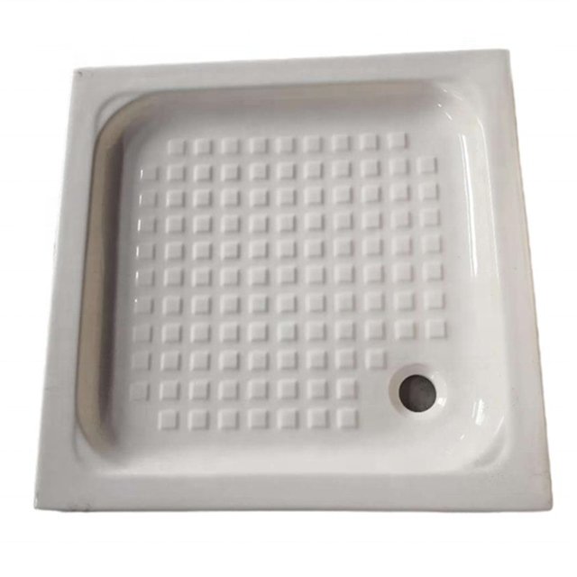 Good Price White Square Bathroom Ceramic shower tray
