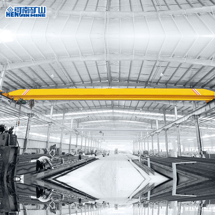 China 2019 1 2 3 4 5 6 7 8 9 10 Ton LDA Style Large Tonnage Cargo Lift Single Girder Beam Bridge Overhead Crane