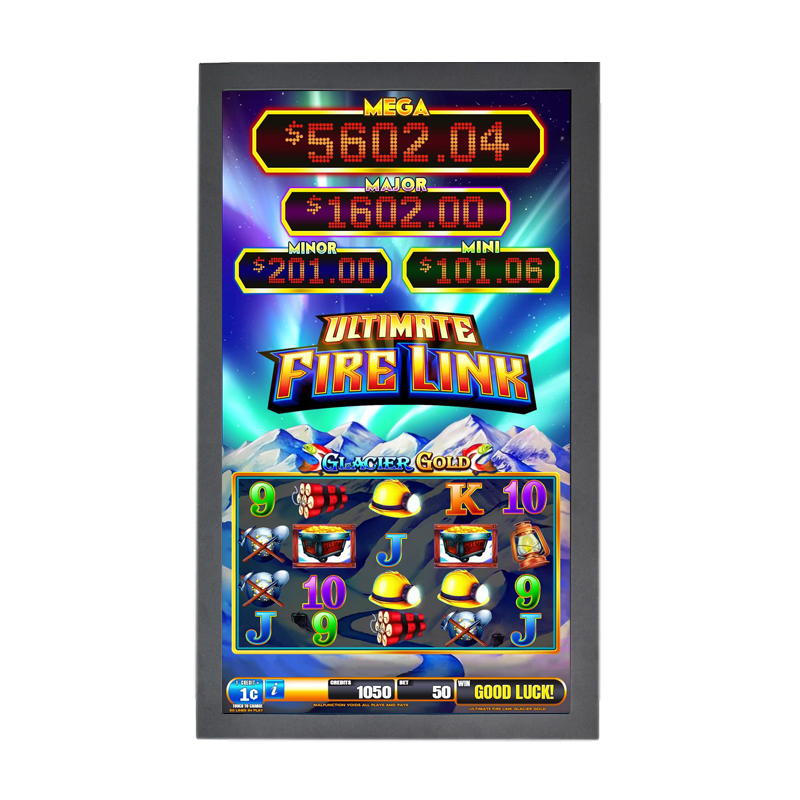 Hot Koop 43 Inch Pot O Gold Ir Touch Screen Game Monitor Voor Pog Wms Igs Fire Link Game Board <span class=keywords><strong>infrarood</strong></span> Touch Screen