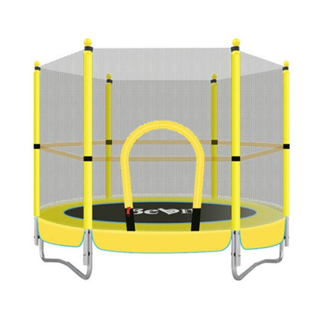 Indoor kids trampoline park safe net trampoline for children