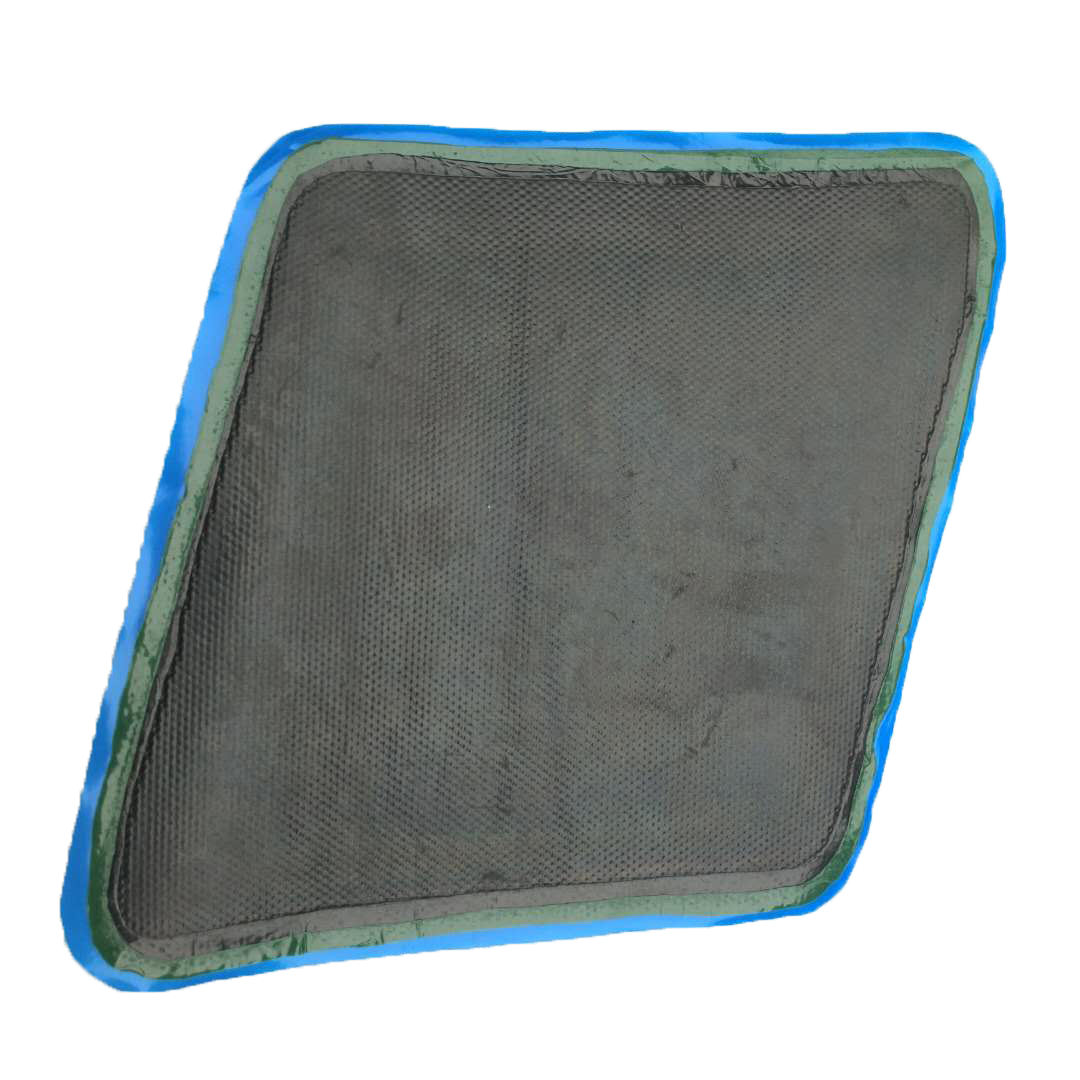 Hot selling cold vulcanization repair patch for conveyor belt broken holes