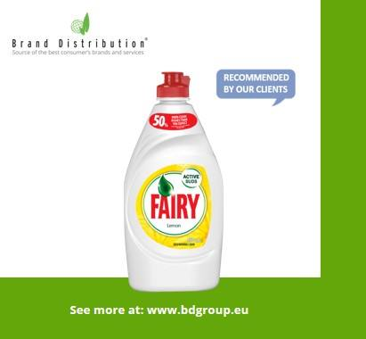 FAIRY 450ml Lemon Dishwashing liquid