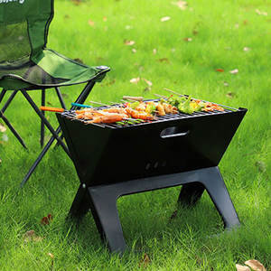 China Fabriek Bbq Grill Stand Niet Gecoat Folding Barbecue Grill Ontwerpen