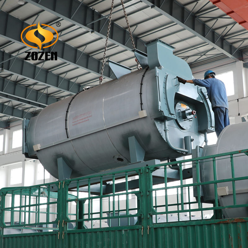Top 10 Domestik China WNS7 MW 10 Ton Minyak Gas Dipecat Boiler Air Panas