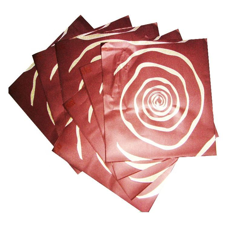 printing copper color aluminum foil paper