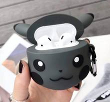 For Airpod 2 in 1 Cartoon Knitting Wool Protective Case and Silicone Cover for Airpods or HUAWEI Wireless Earphone