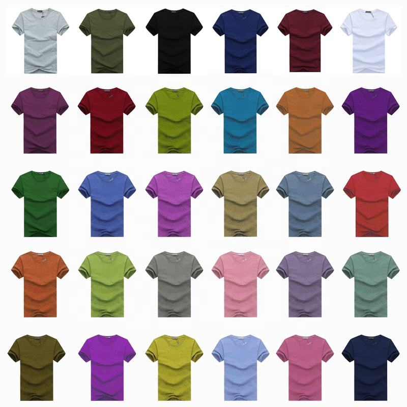 Full size all over print organic cotton tshirts custom blank t shirts plain