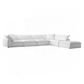Living room couch home sofa furniture cloud serious sectional corner sofa set designs