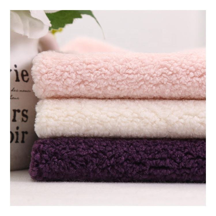 High Quality 100%Polyester Sherpa Fleece Fabric