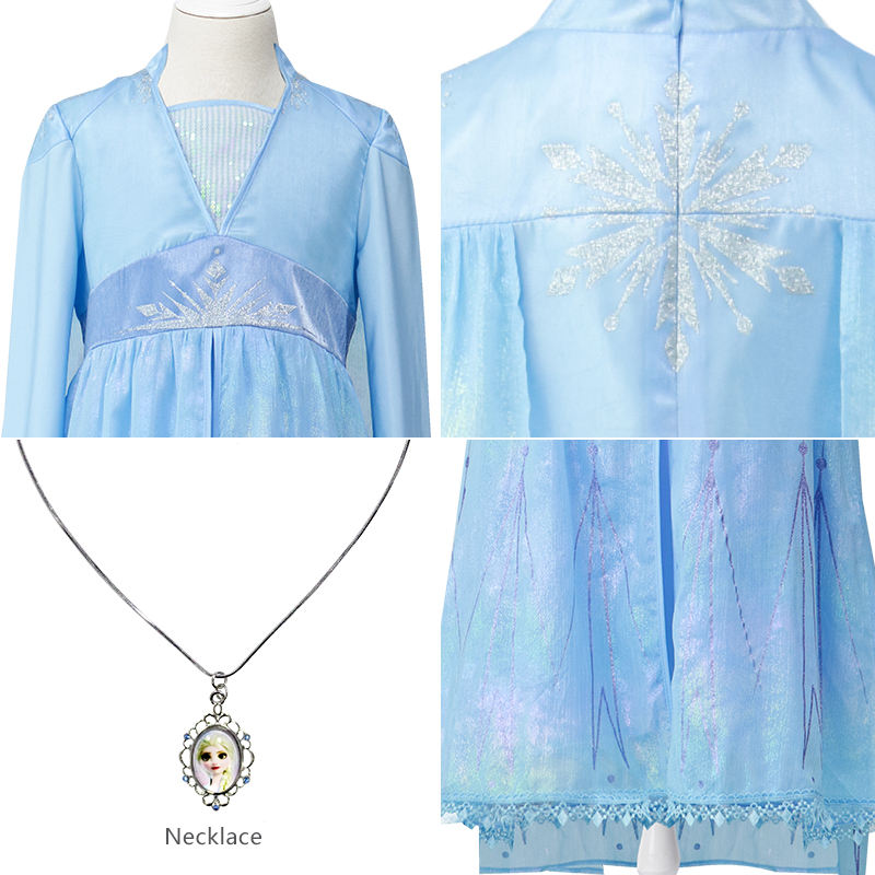 Dresses Kids Costumes Kids Fancy Dress Up Princess Halloween Costume Elsa Queen Dresses For Girls