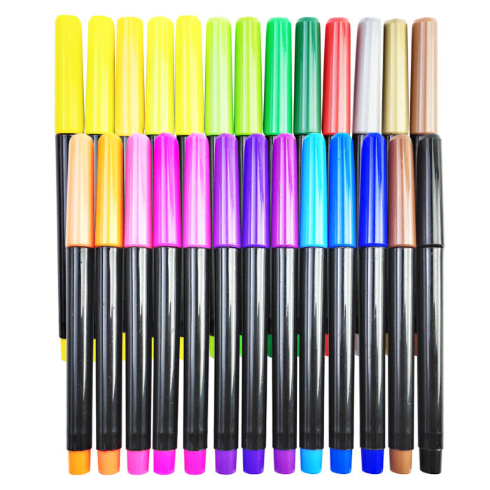 Perfect For Writing On Clothes Clothing Jeans Pants And Shirts Permanent 24 Colors Fabric Markers