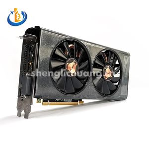 New RX 560 RADEON Graphics Card XFX RX 560XT 8GB With Dual Silent Fan