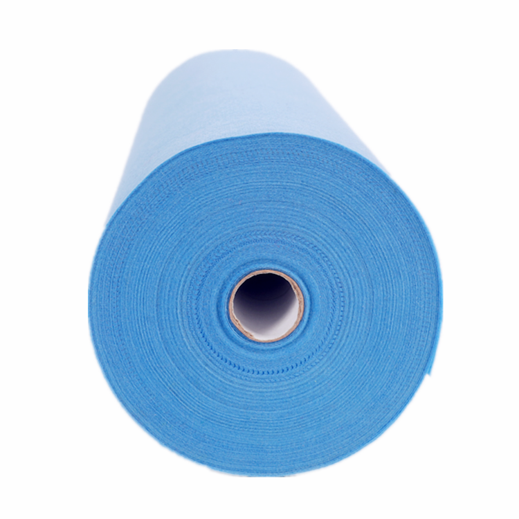 Disposable SMS Meltblown Nonwoven Fabric SS SMS PP Spunbonded Nonwoven Fabric Breathable Blue Sms Non woven Fabric For Gown