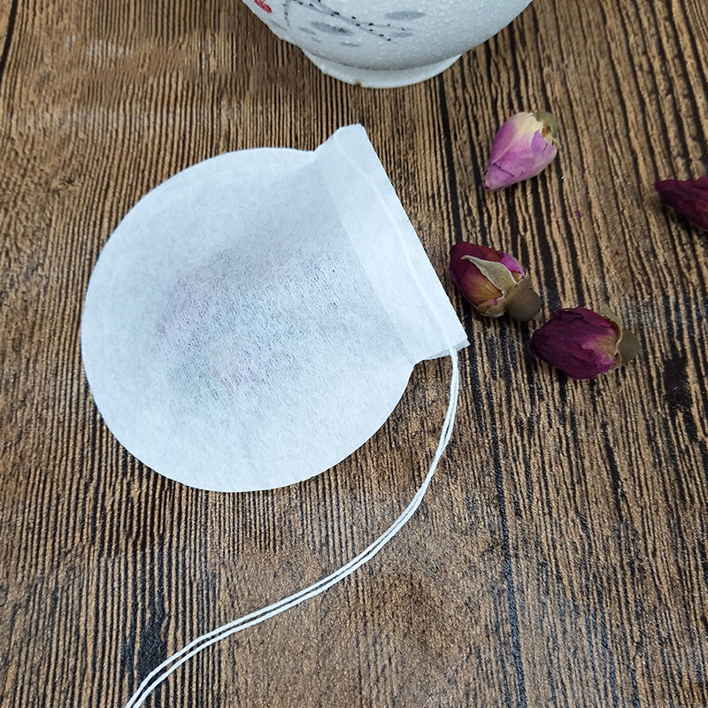 Disposable Empty Round Shape Filter Paper Biodegradable High Quality Tea Bag