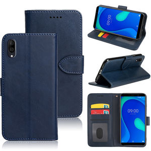 Retro Lật Leather Wallet Bìa Trường Hợp Đối Với Wiko Y80 Y70 Y60 View3 Pro Lite Y50 Sunny4 Jerry4