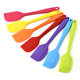 Amazon Wish ebay joom shopee Hot sale integrated small size silica gel cake scraper silicone spatula