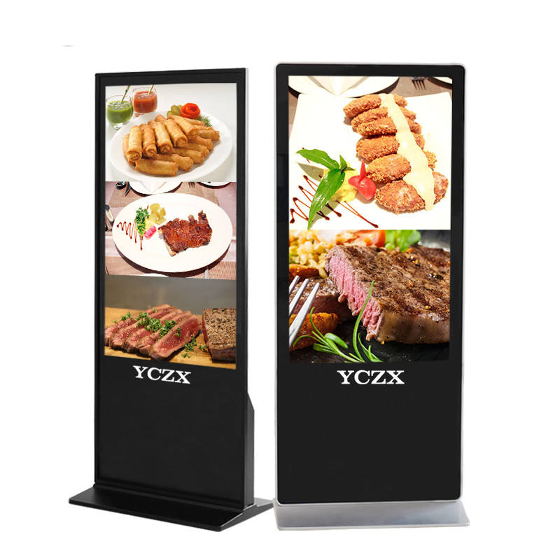 Best Price 43 48 58 55 65 Inch Floor Standing Android Multi Touch Screen Kiosk All In One Monitor Advertising