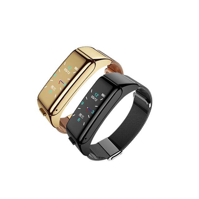 Android Màu Xanh Răng Smartwatch Cổ Tay Di Động Thông Minh Đồng Hồ Điện Thoại B6 Thể Thao Thông Minh Đồng Hồ