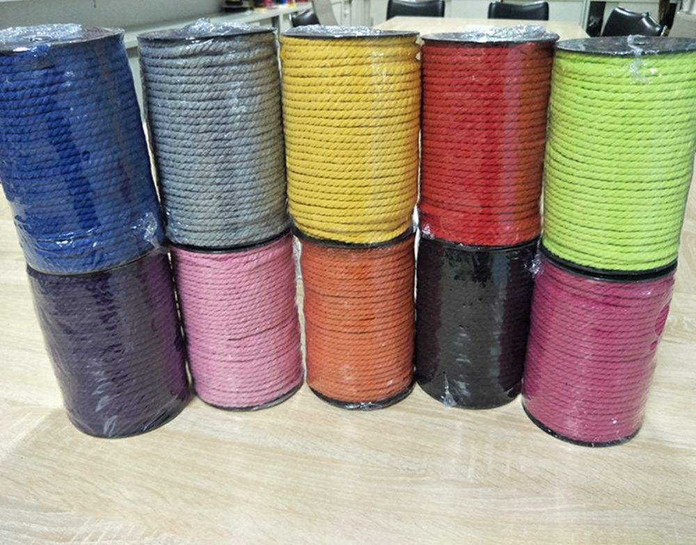 5mm macrame cotton string cord rope