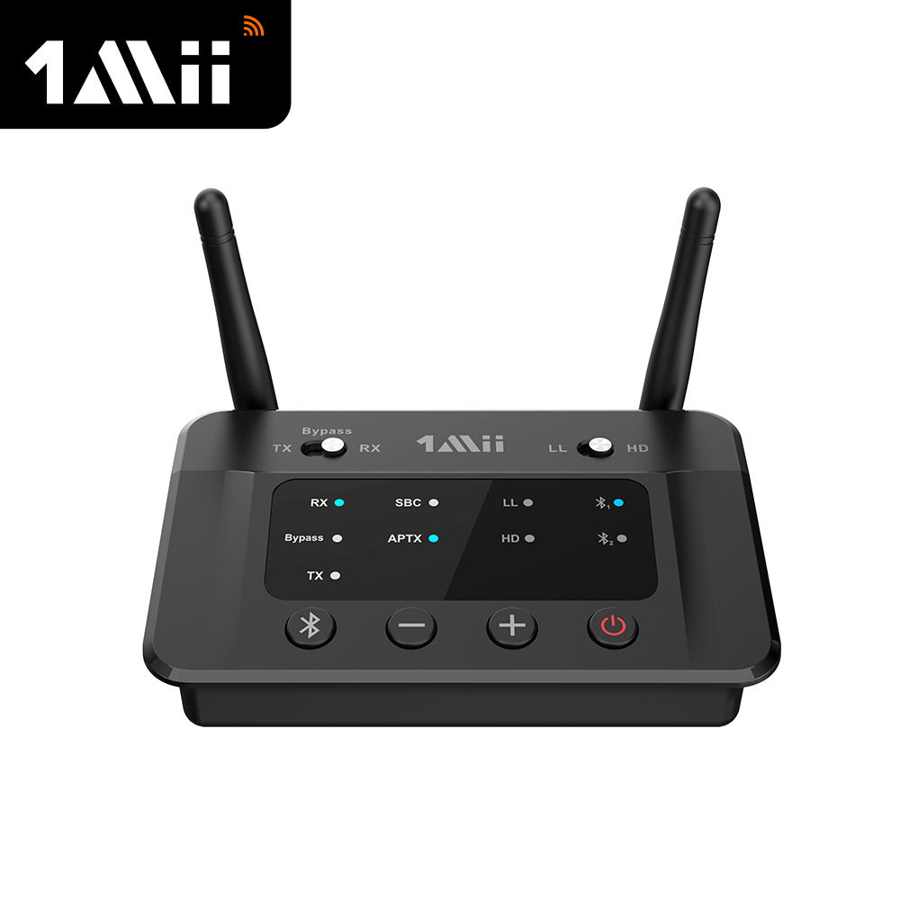 2 Channel Bluetooth 5 Audio Wireless Transmitter Receiver Bypass TV Optical Transmitter